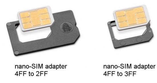 nano sim adapters iphone 5