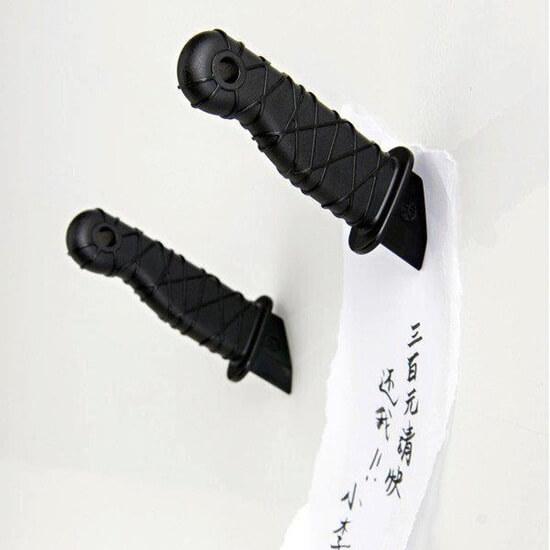 ninja dagger fridge magnet