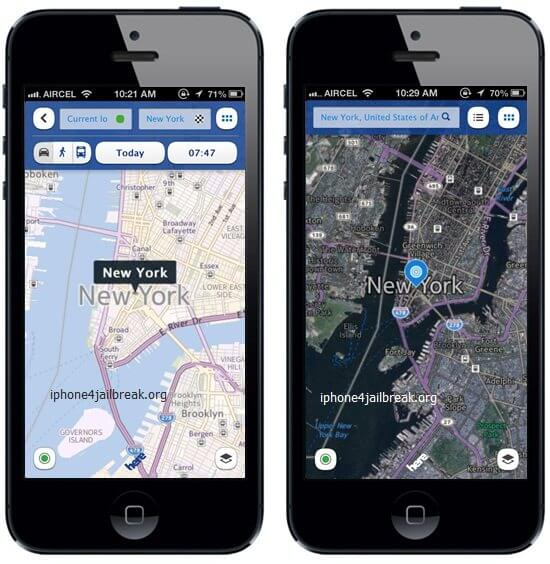 nokia maps for iphone