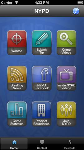 nypd crime app for iphone ipod ipad (1)