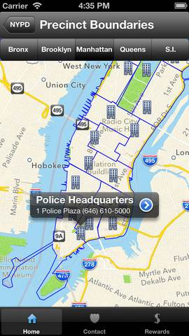 nypd crime app for iphone ipod ipad (2)