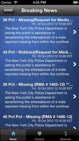nypd crime app for iphone ipod ipad (3)