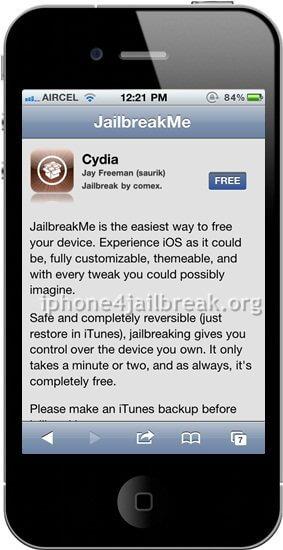 online jailbreak iphone 4 jailbreakme