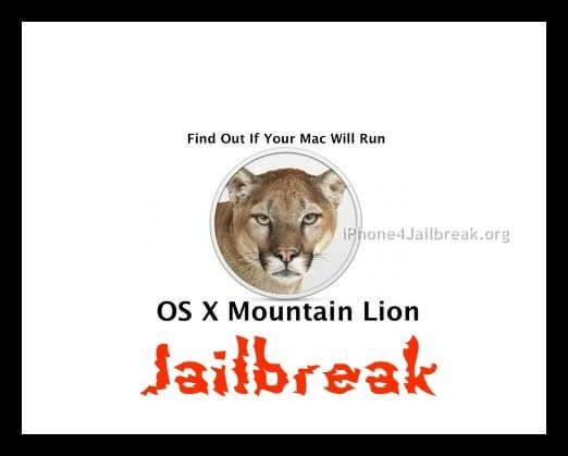 osx moutain lion jailbreak