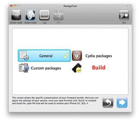 pwnage Tool 4.2.1 iphone 4