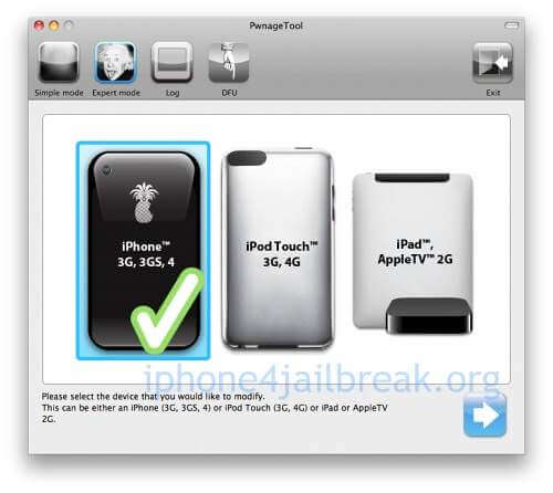 pwnage tool jailbreak iphone 4 4.3.1
