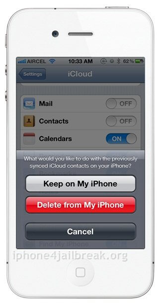recover lost contacts iphone 5