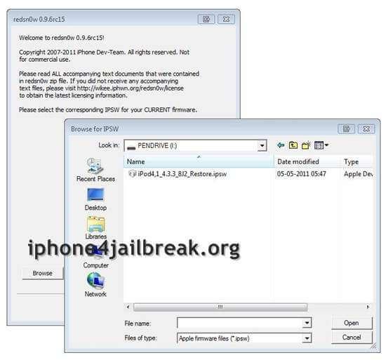 redsn0w 4.3.3 jailbreak