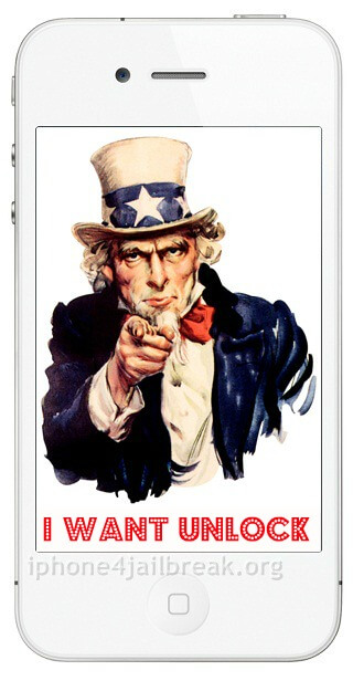 sam unlock iphone 4