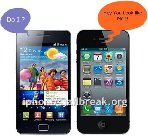 samsung galaxy iphone 4 4S 5