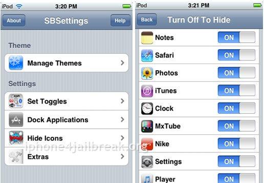 hide hide app icon