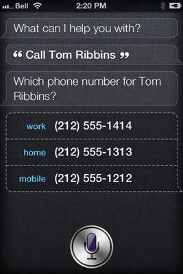 how to make siri call you