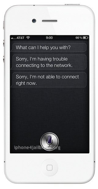 siri network connection problem-