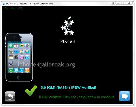 sn0wbreeze ios 5 jailbreak iphone 4