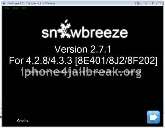snowbreeze 2.7.1 sn0wbreeze download