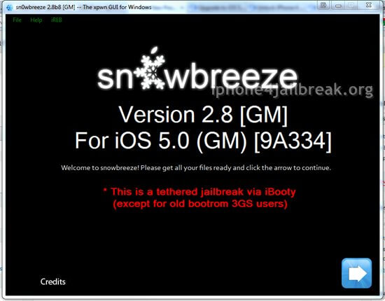 snowbreeze iphone 4 unlock ios 5