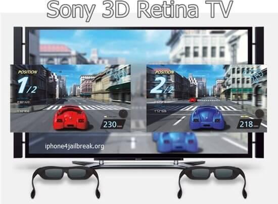 sony 3d retina tv