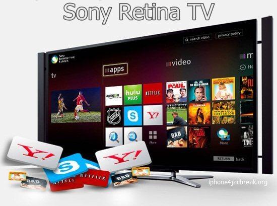 sony retina tv price