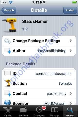 statusnamer_jailbreak app