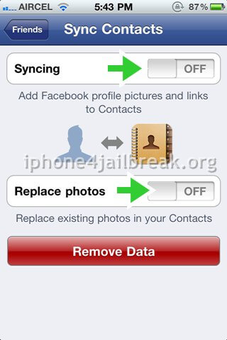 sync facebook contacts to iphone how to sync contacts with your iphone 4 1745