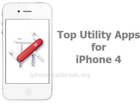 top utility apps iphone 4