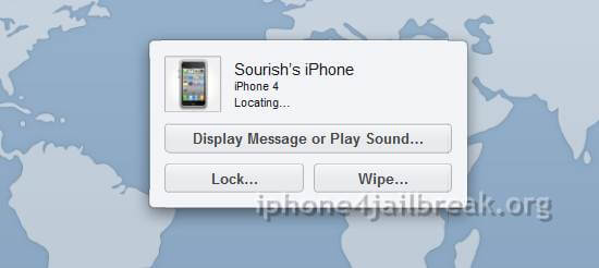 tracing iphone 4