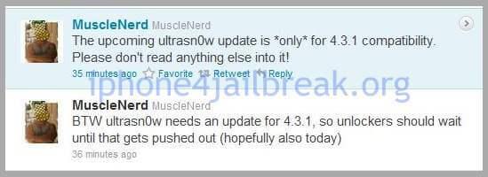 ultrasn0w 4.3.1 unlock