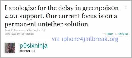 untethered jailbreak iphone 4