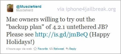 untethering iphone 4 4.2.1