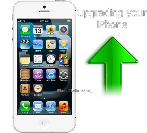 upgrading iphone 5
