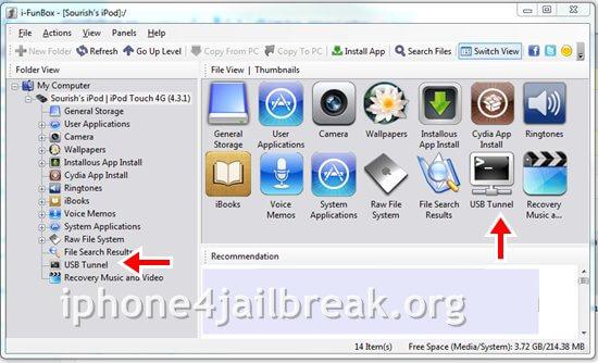 usb ssh iphone 4-
