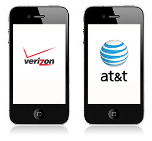 verizon cdma iphone 4 at&t