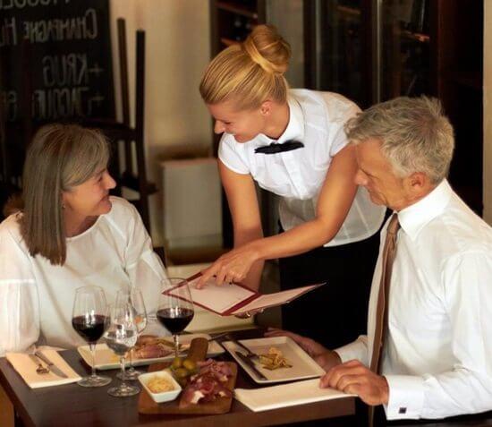 waiter-serving-customers