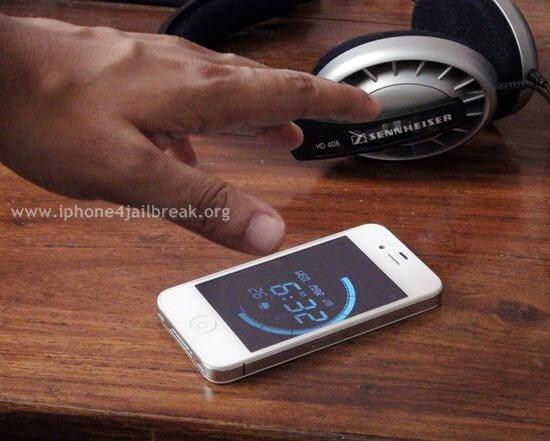 wave alarm iphone 4
