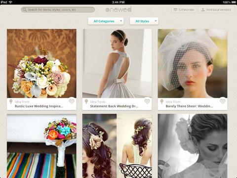 wedding planner ipad app