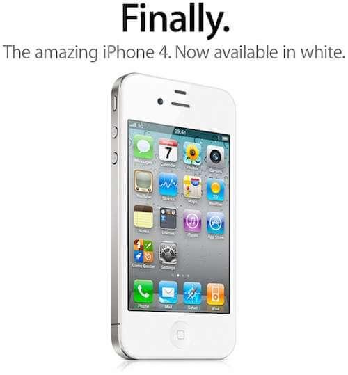White iPhone 4 buy