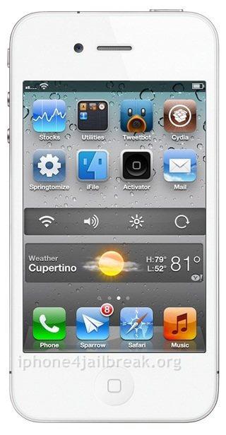 android widgets homescreen iphone 4 jailbreak app