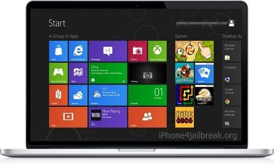 windows 8 macbook pro install download