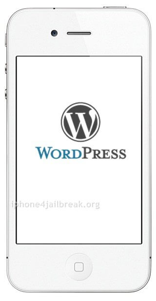 wordpress app iphone 4 ipad